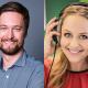 Ruben Schulze-Fröhlich (Antenne Bayern) und Henriette Fee Grützner (Radio PSR) kommen zu den Lokalrundfunktagen 2018